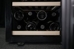 Cantinetta vino 38 bottiglie climatizzata, black