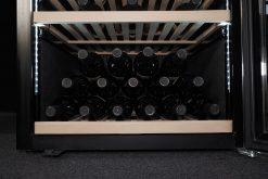 Professional Wine Cooler 192 bottles, black