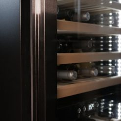 Professional climatic wine fridge 180 bottles, black
