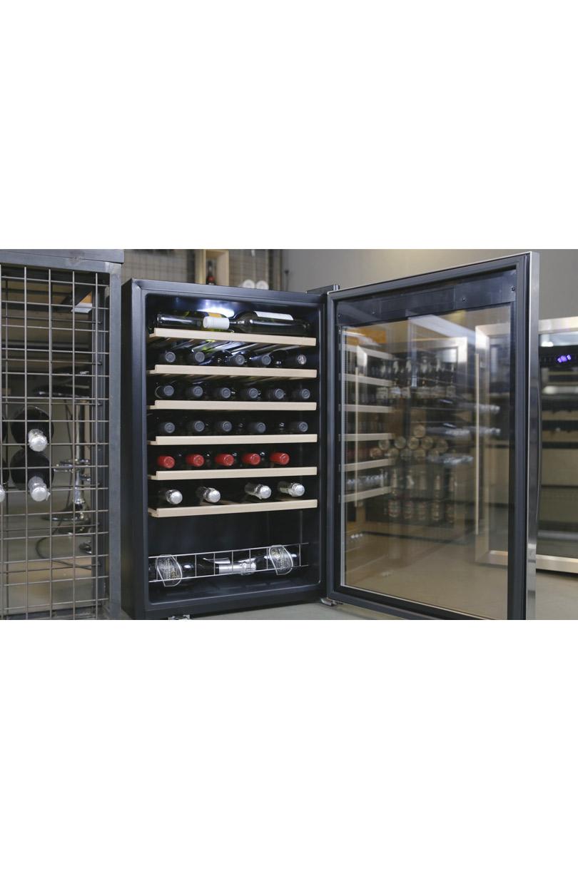 Wine Cooler 48 bottles single zone