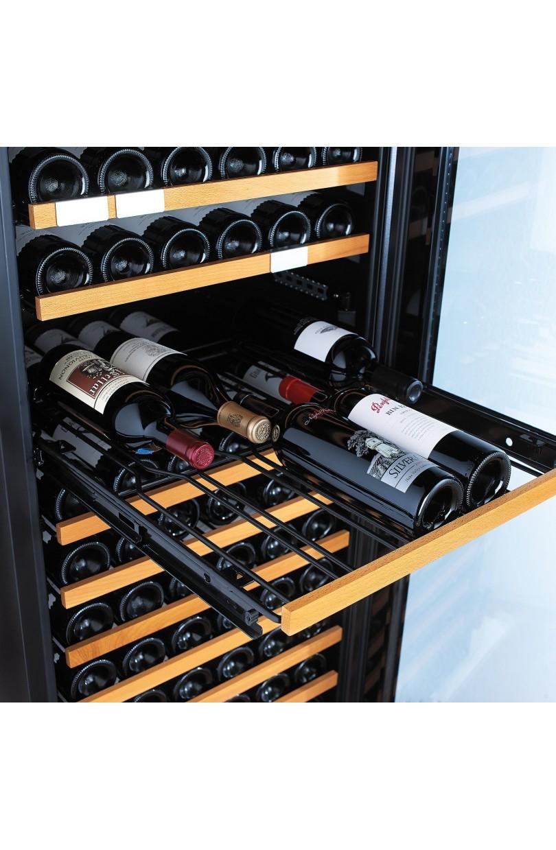 Cantinetta vino 94 bottiglie Mono temperatura CLIMATIZZATA PROFESSIONALE LINEA LUXURY (mis.121,5x59,5x69 kg.70)