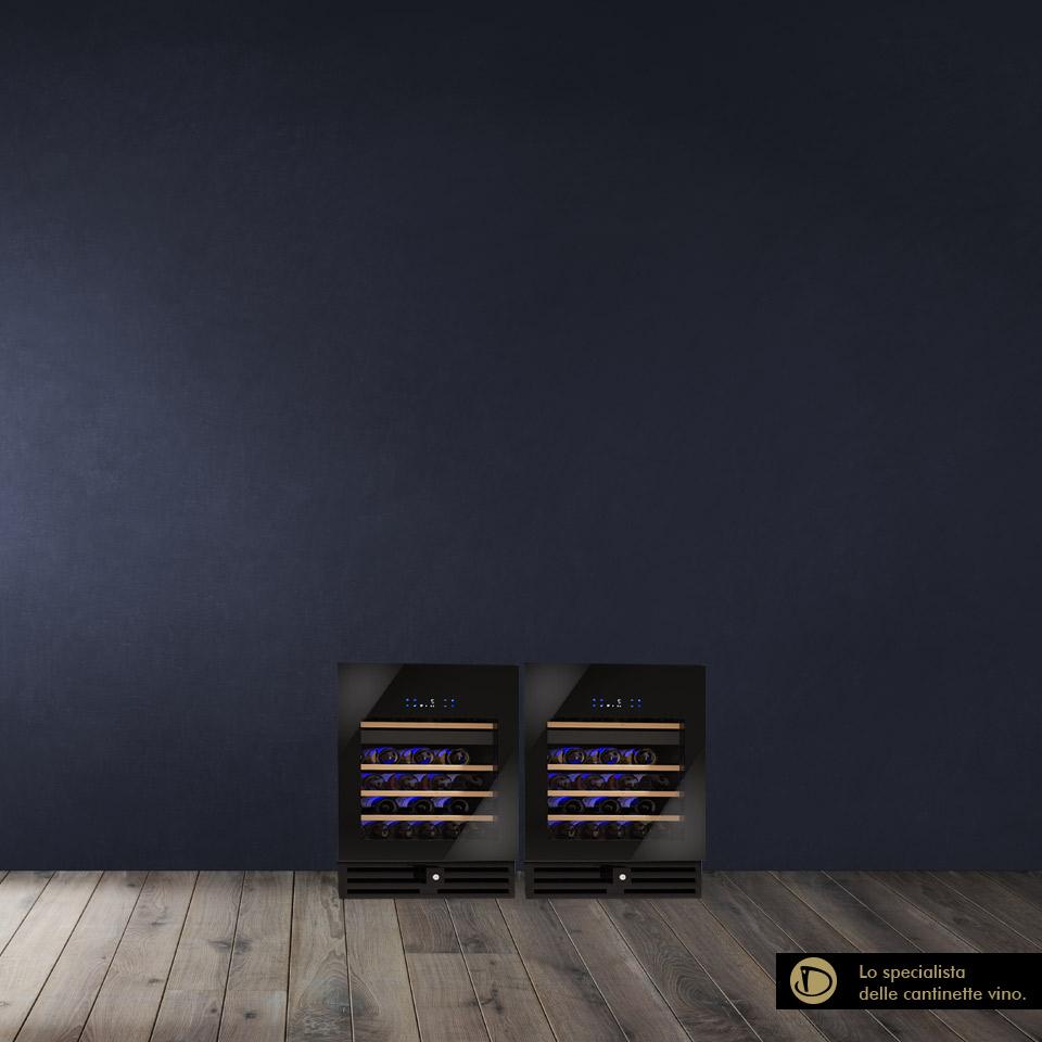Armadio Cantina 108 bottiglie Professionale Luxury