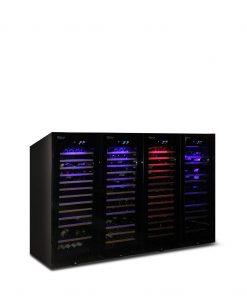 Armadio Cantina 680 bottiglie climatizzata Altamente Professionale Luxury