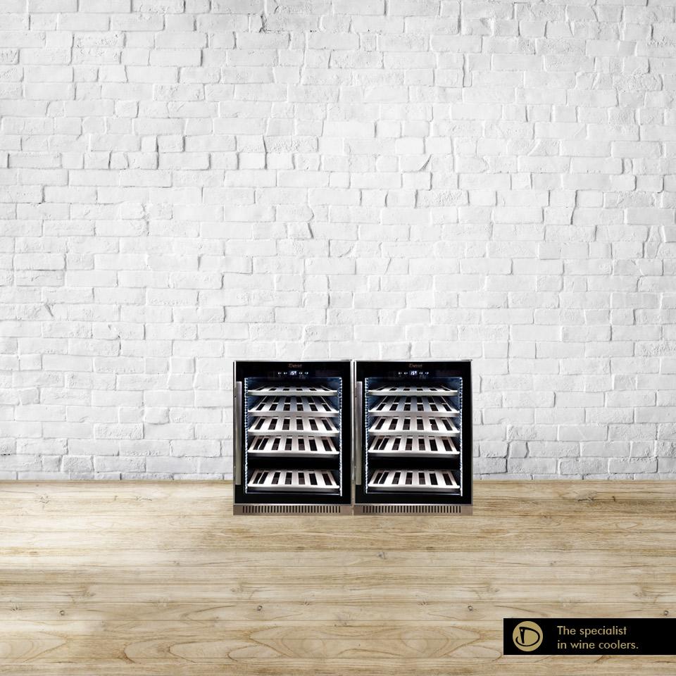 Armadio cantina 102 bottiglie compressore