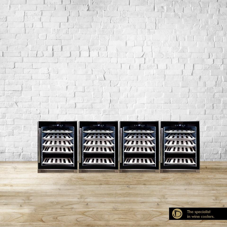 Armadio cantina 204 bottiglie compressore