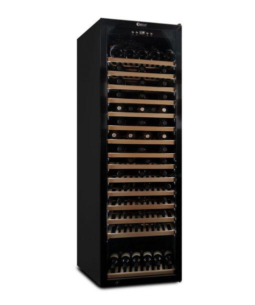 Cantinetta climatizzata professionale 192 bottiglie, black