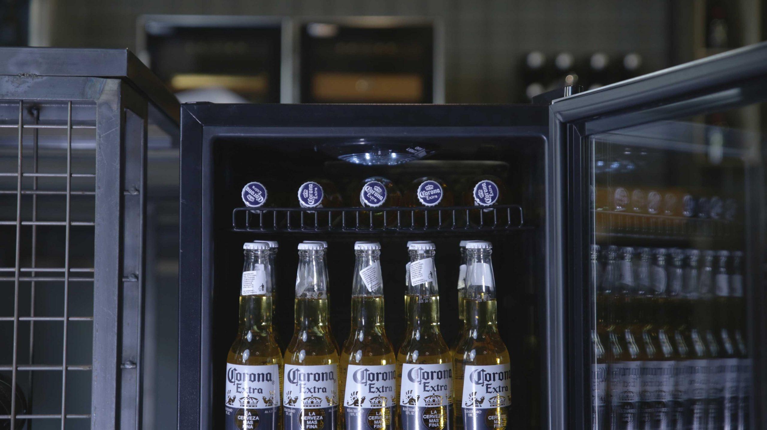 Getränke- und Bierkühlschrank für 60 Dosen