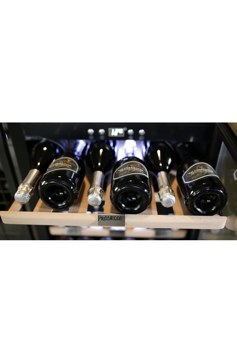 Cantinetta vino mono temperatura 51 bottiglie Classe A compressore (mis. 820x595x572 kg.53)