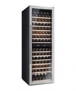 Weinkühlschrank, 166 Flaschen, klimatisierte, professioneller Kompressor