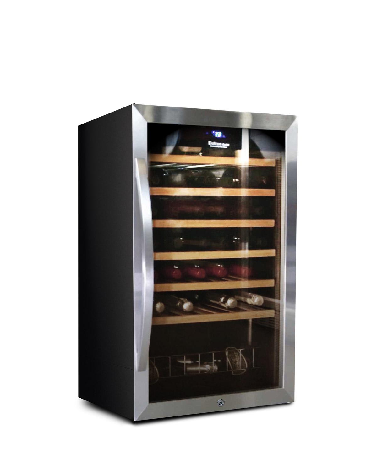 Weinkühlschrank 48 flaschen, kompressor, freistehend
