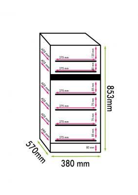Weinkühlschrank 32 Flaschen, einbaufähig und frei installierbar