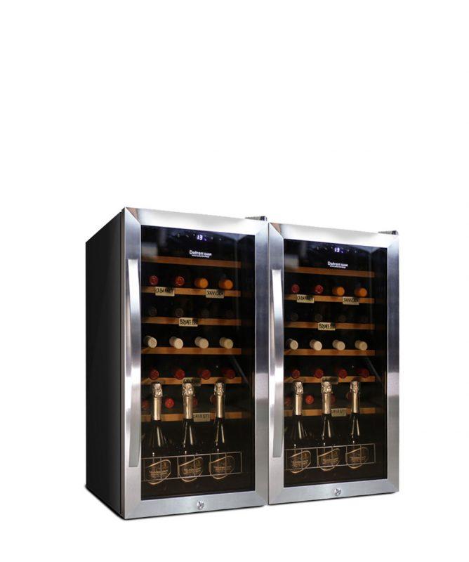 Armadio Cantina vino 56 bottiglie compressore