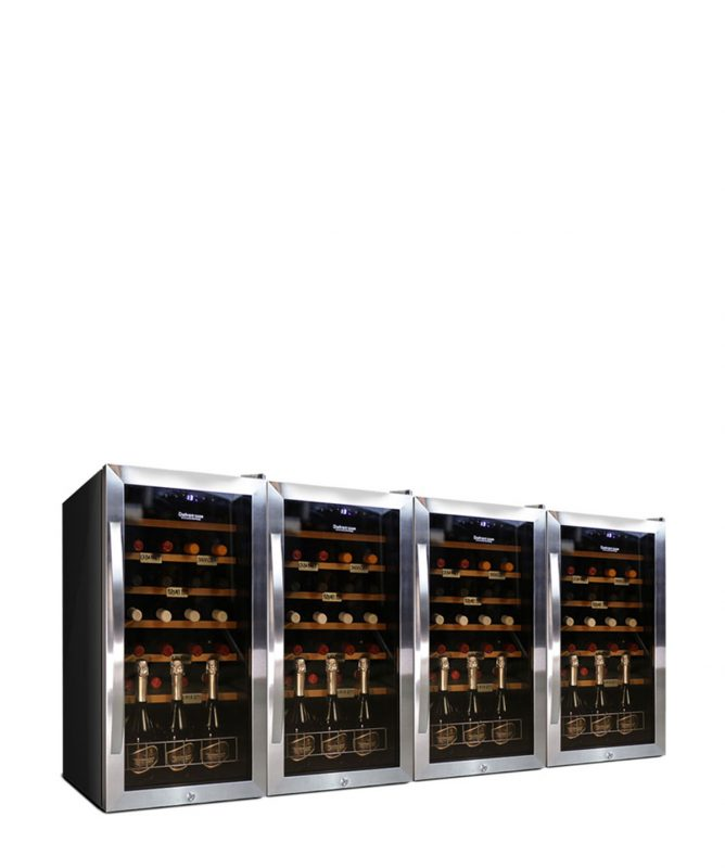 Large Wine Fridge 112 bottles compressor