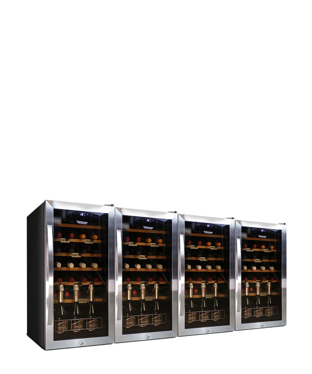 Armadio Cantina vino 112 bottiglie compressore