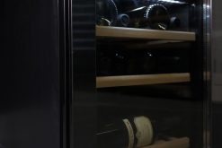 Cantinetta vino 12 bottiglie black