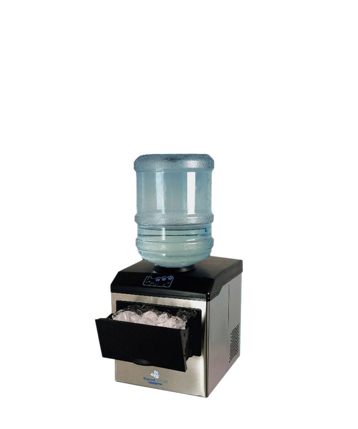 Macchina portatile del ghiaccio con ricarica 15 Kg