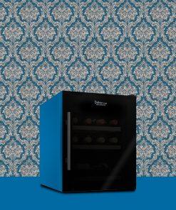 Cantinetta 15 bottiglie Personalizzata colore Blu metallico