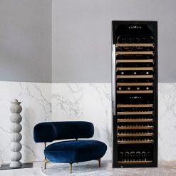 Professioneller klimatisierter Weinkühlschrank 180 Flaschen