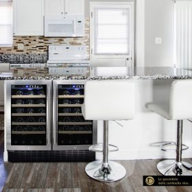 Winecooler 34 bottles+cans for built-in and freestanding