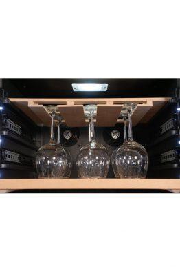Professioneller klimatisierter Weinkühlschrank 185 Flaschen