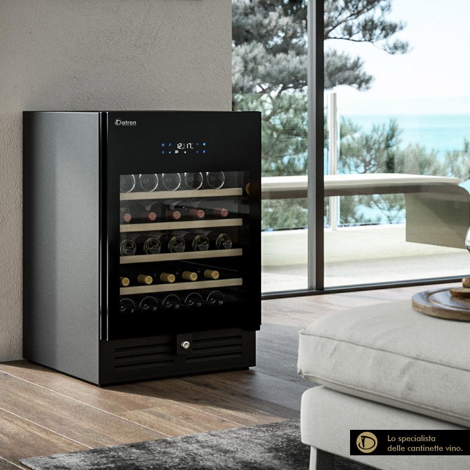 Professioneller Weinkühlschrank 46 flaschen mit klimatisierten Luxury