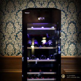 Cantinetta vino 96 bottiglie climatizzata professionale Luxury