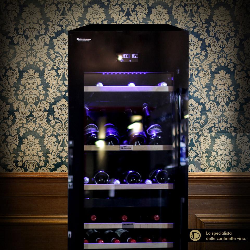 Cantinetta vino 94 bottiglie Climatizzata Professionale Linea Luxury