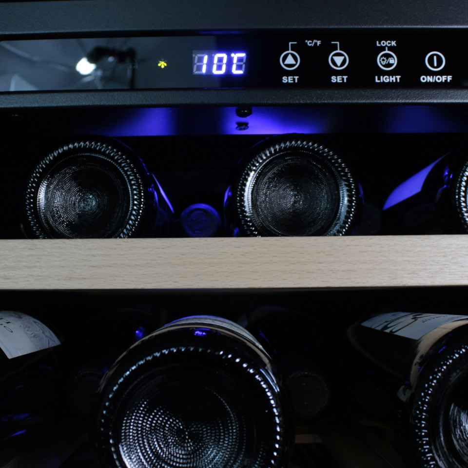 Wine cooler 34 bottles Built-In and Free Installation
