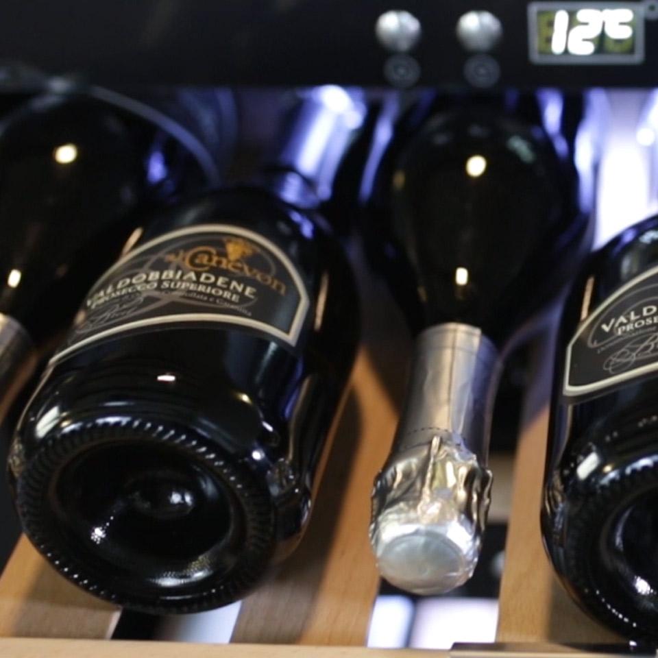 Weinkühlschrank 40 Flaschen, Kompressor