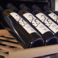 Wooden Wine Cooler 46-62 bottles single temperature zone