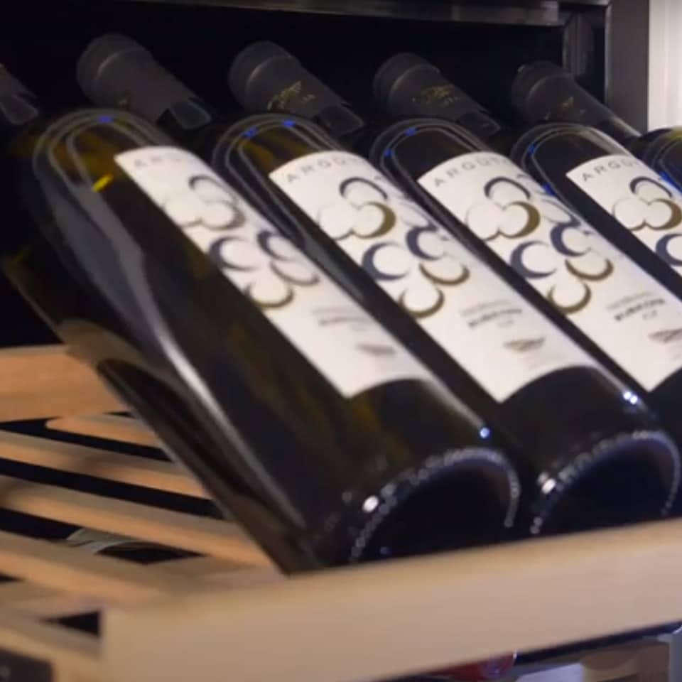 Cantinetta Vino in Legno 46-62 bottiglie