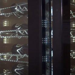 Weinkühlschrank für 81 Flaschen mit 4 Glasseiten Flachglas